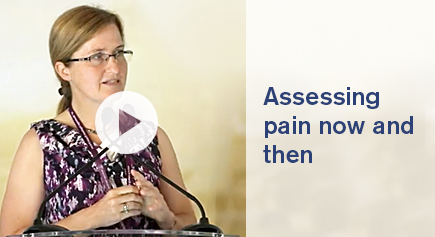 image Video Assesing pain now and then